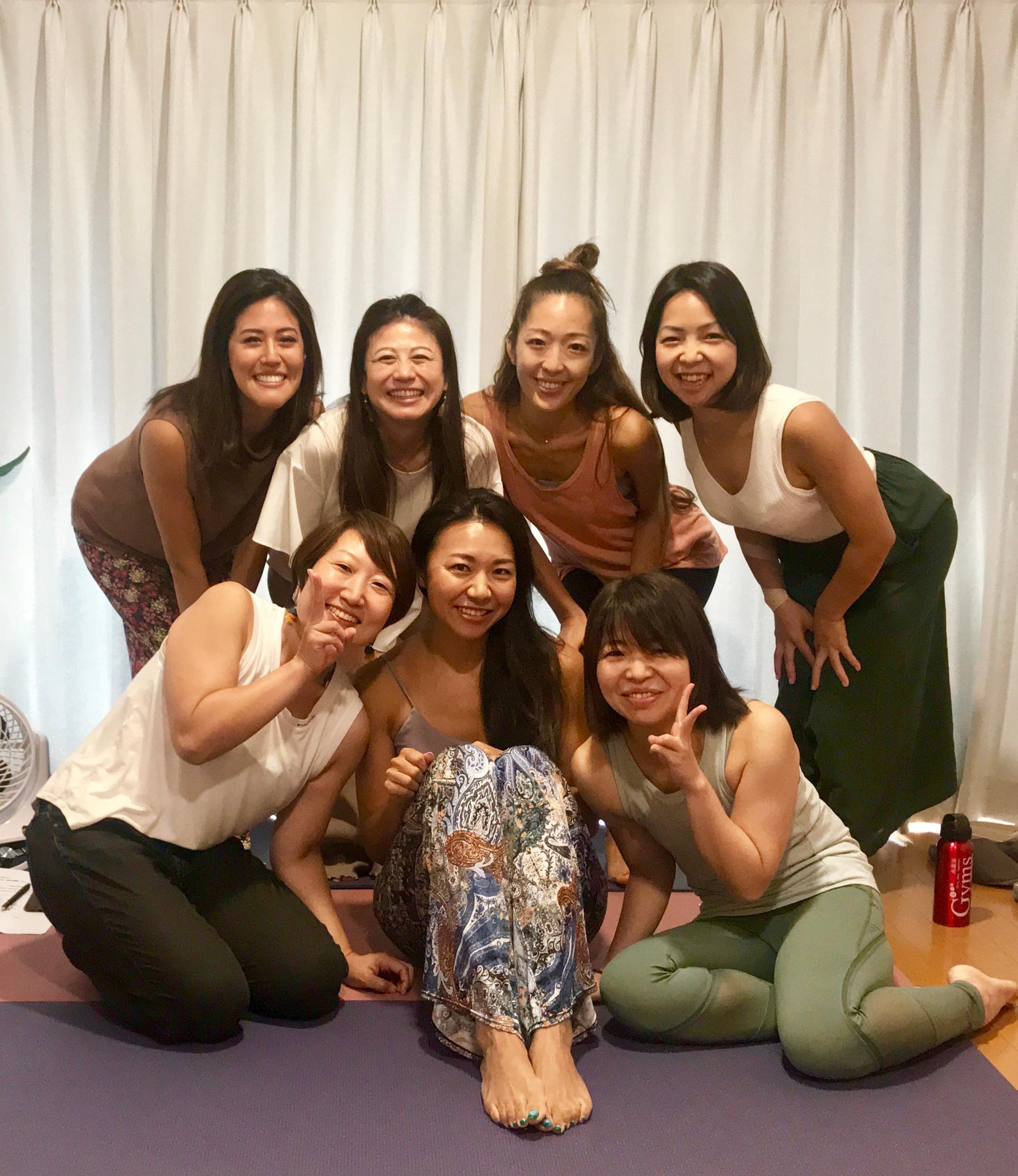 Yogaで英会話初回ワークショップ!