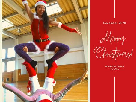 Merry Christmas! & Yogaで英会話養成講座のお知らせ