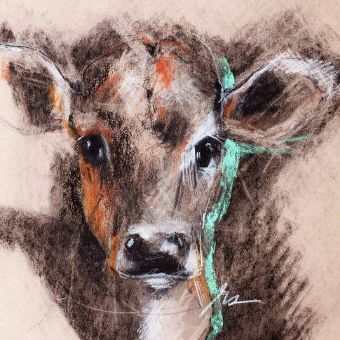 Red Calf (2018) sold