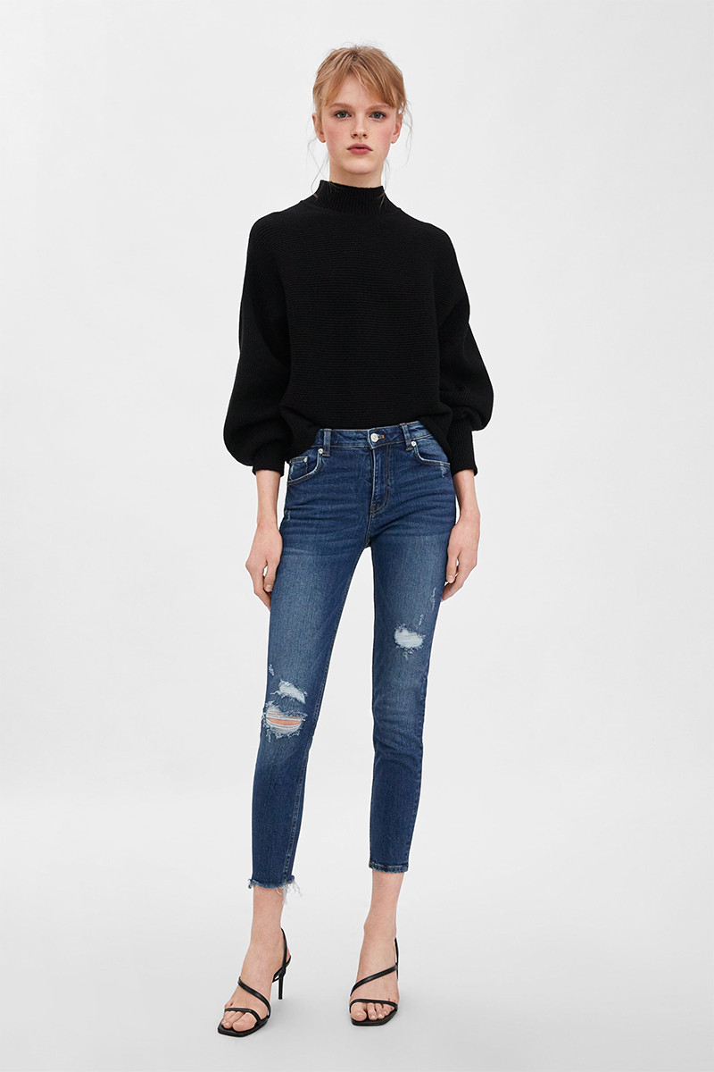 Zara Mid Rise Jeans