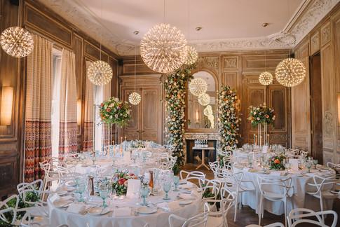 Cowley Manor Wedding Dining