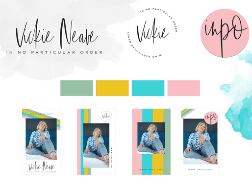 Vickie Neave Rebrand Project