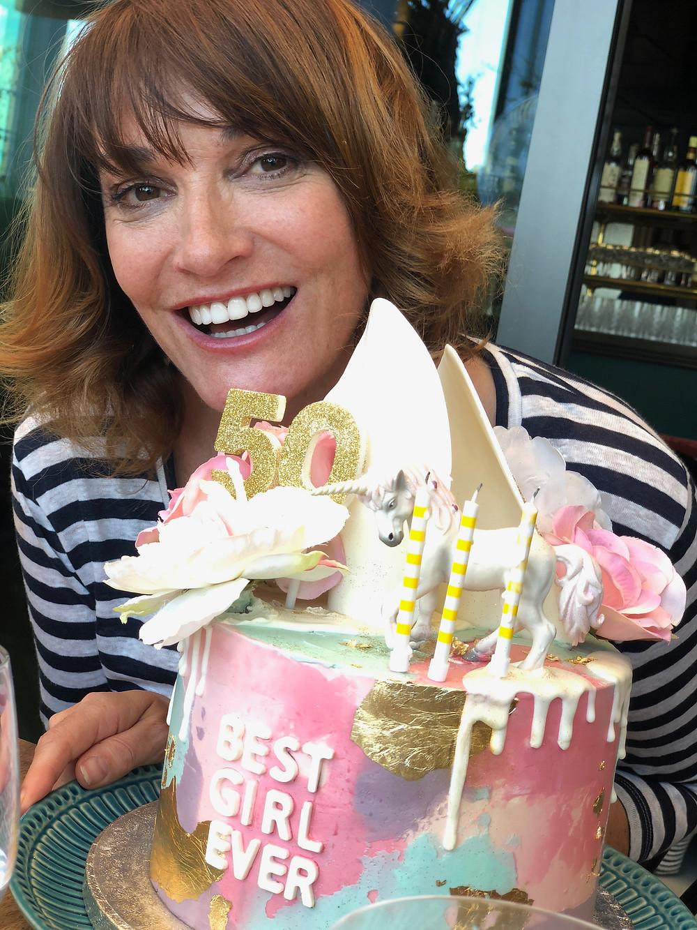 Sarah Parish 50th Birthday