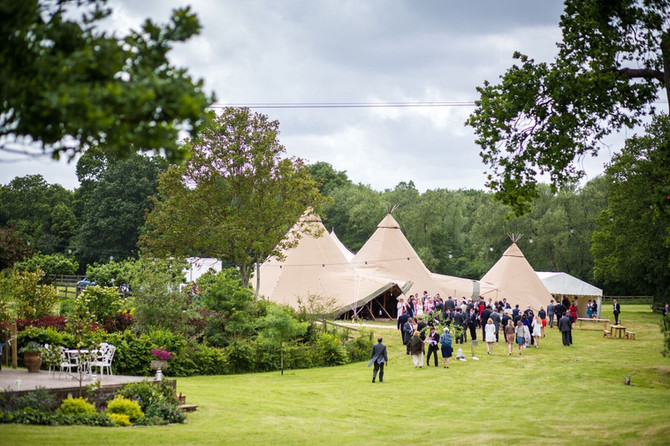 EMMA & LUKE - GORGEOUS TIPI WEDDING, KENT