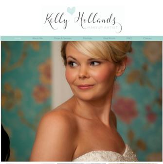 KELLY HOLLANDS MAKE UP ARTIST