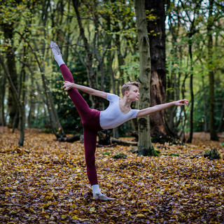 Ballet photographs in Coldfall Woods | Luc age 14