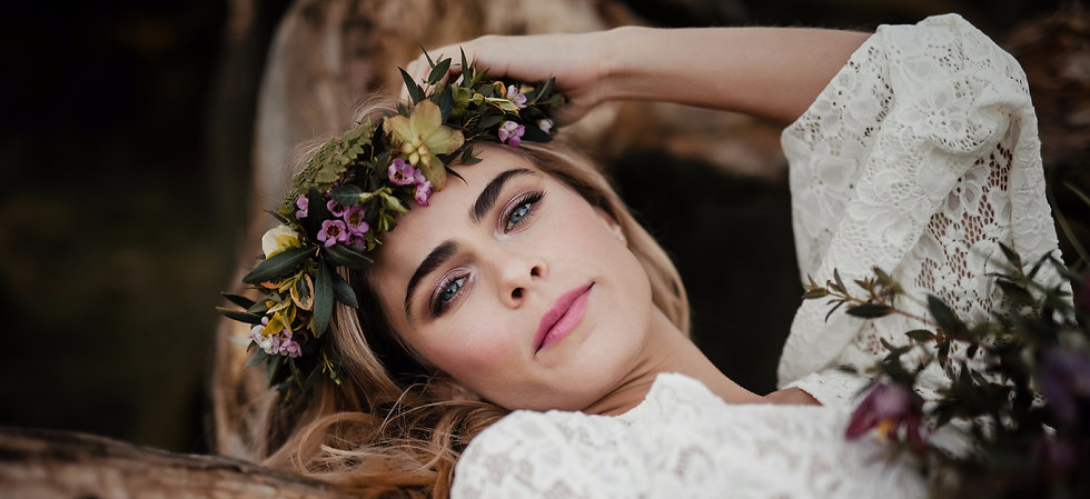 natural wedding makeup artist