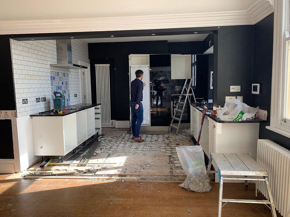 Kitchen Renovation - Angela Griffin