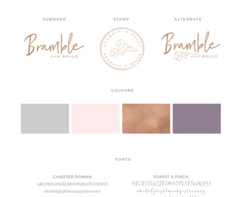 Bramble & Belle Branding Project