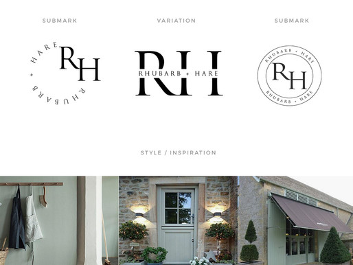Rhubarb & Hare Brand Project