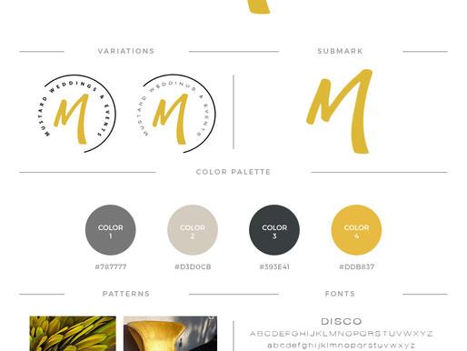 Mustard Events Brand