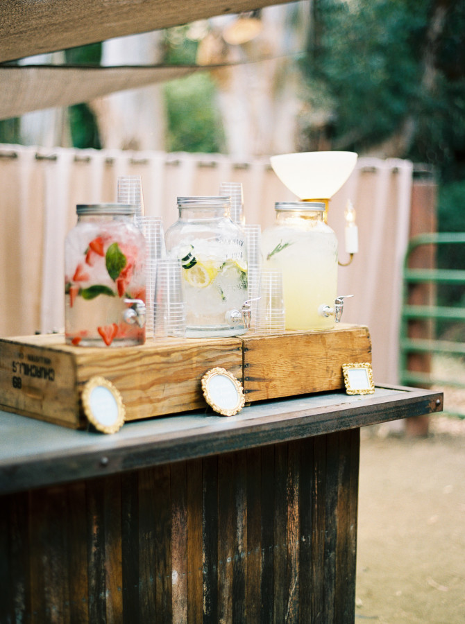 Wedding Drinks Station