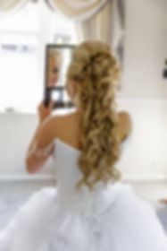 Beautiful wedding hair Essex