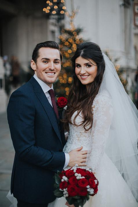 Luxury London wedding venue makeup artis