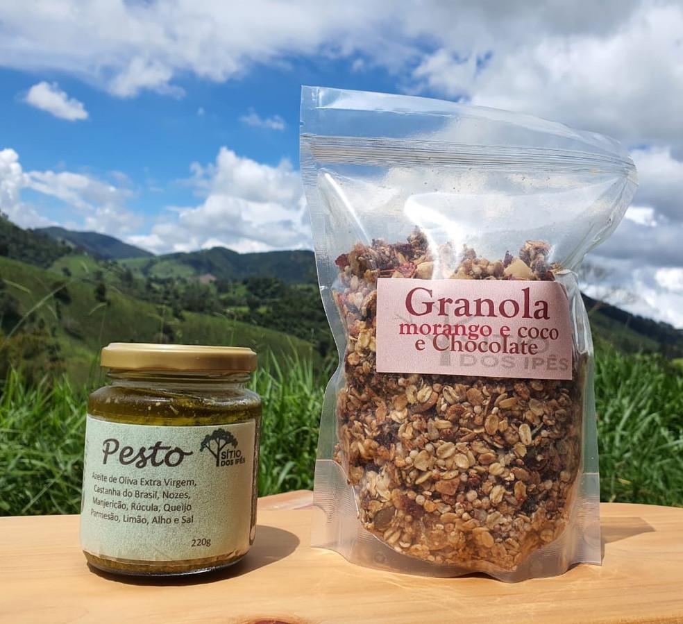 Pesto e Granola Sítio dos Ipês
