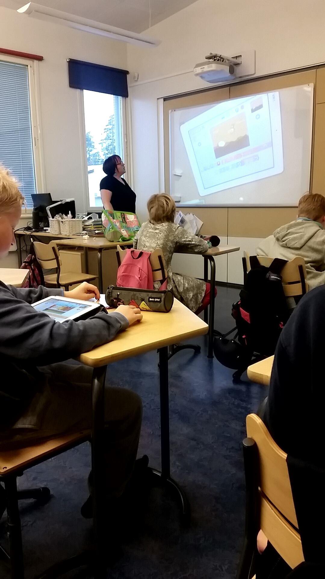 フィンランド 授業風景