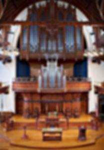 Jaeckel Pipe Organ at First Presbyterian Church of Portland, Oregon