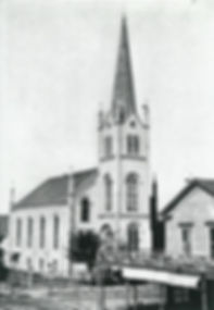 First Presbyterian Church of Portland, Oregon in the early years