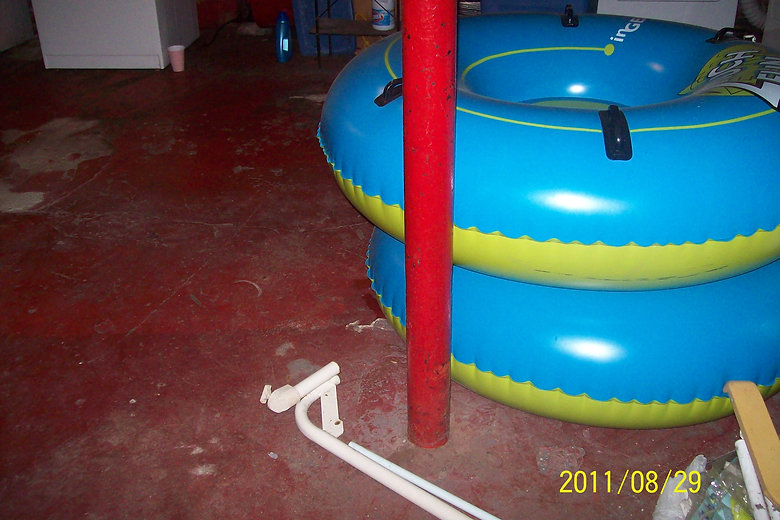 Sewage backup