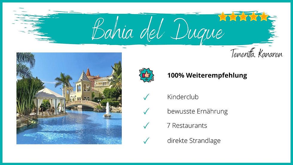 Bahia del Duque