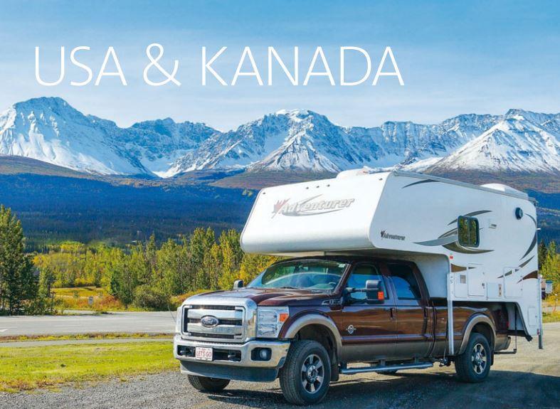 Wohnmobil Camper USA Kanada