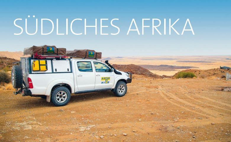 Camper Wohnmobil Südafrika