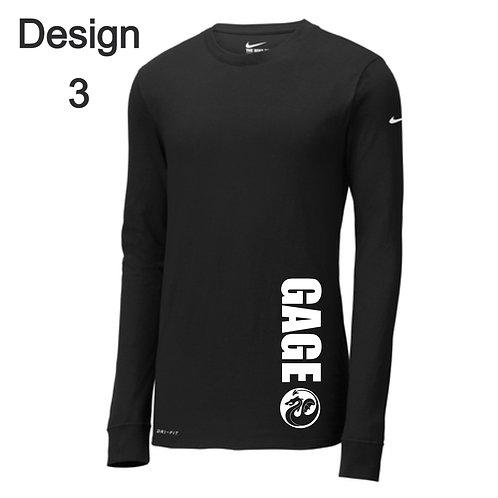 Coach - Nike Long Sleeve Peformance Blend T