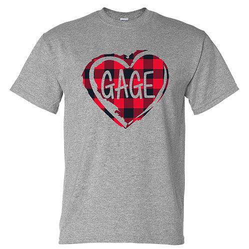 GAGE Heart Tshirt