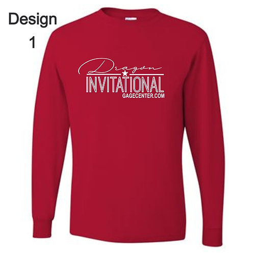 Red Long Sleeve T Shirt