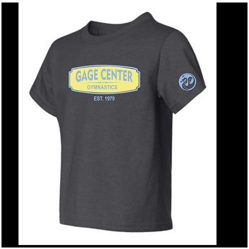 Tshirt with GAGE est 1979 logo