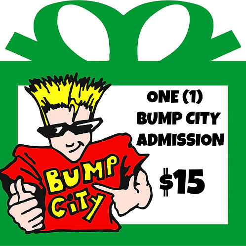 Bump City Gift Card - 1 admission