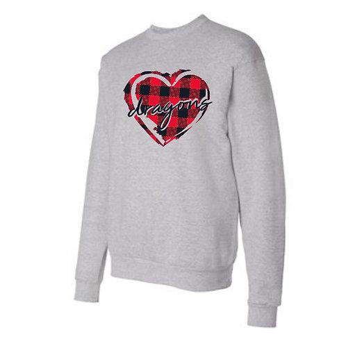 Plaid Heart