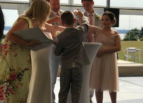 Liverpool Celebrant: How to include a Family Sand Ceremony...
