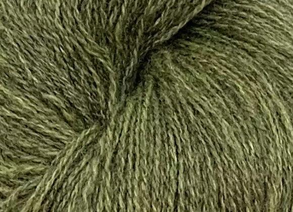 Sølje Pelsullgarn Limette dunkel 2142