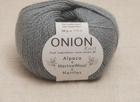 Onion Alpaca Merino Nettles - 1211 Douce Gron