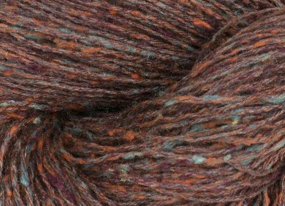 BC Yarn - Tussah Tweed - 009 Rost- Aqua Mix