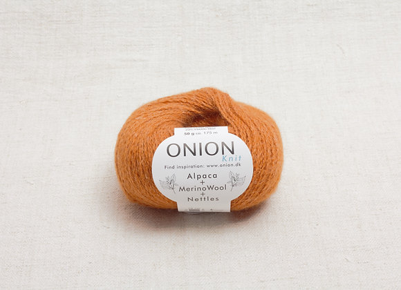 Onion Alpaca Merino Nettles - 1214 Braendt Orange