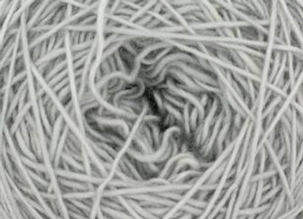 Cowgirlblues - Merino Single Lace Solids - Silver Fox 03
