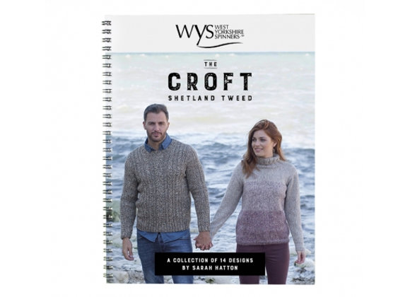 The Croft Shetland Tweed 14 Designs by Sarah Hatton