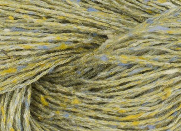 BC Yarn - Tussah Tweed - 021 Green- Summer Mix