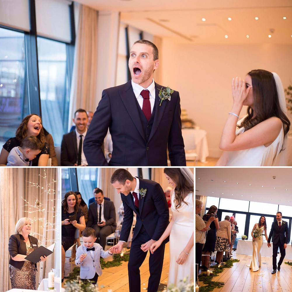 Humanist Wedding Celebrant, Lorraine Hull at Hope Street Hotel, Liverpool