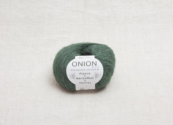 Onion Alpaca Merino Nettles - 1206 Flaskegron
