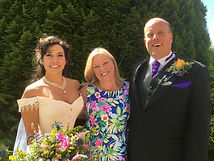 Wedding Celebrant, Lorraine Hull in Wales
