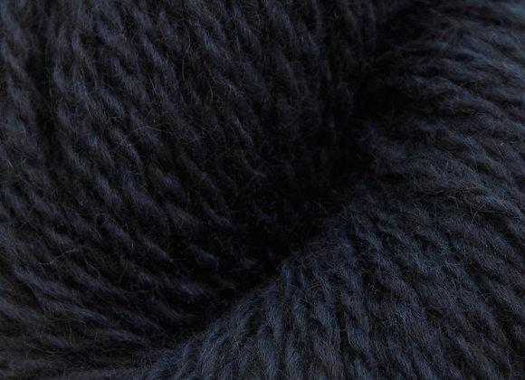 Blåne Pelsullgarn Schwarzblau 2133