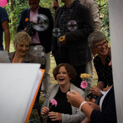 Real Celebrant Naming Ceremony: all you need is love (and maybe a gazebo and some bubbles)