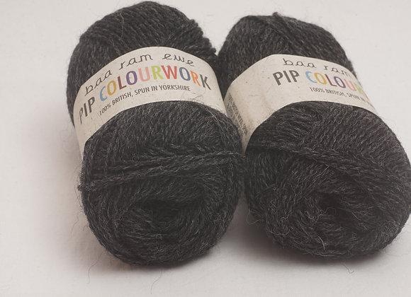 Baa Ram Ewe - Pip Colourwork Coal