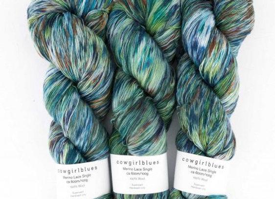 Cowgirlblues - Merino Single Lace Farbverlauf - 9 to 5 28