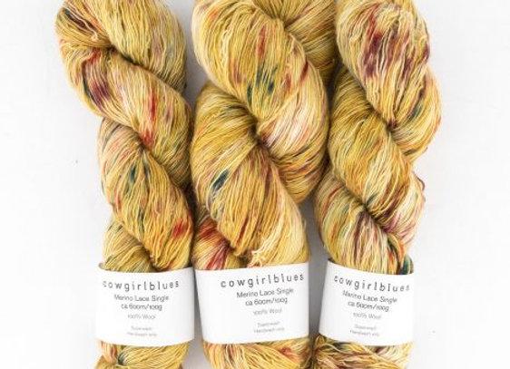 Cowgirlblues - Merino Single Lace Farbverlauf - True Colours 26