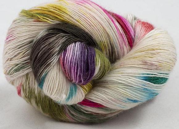 Cowgirlblues - Merino Single Lace Farbverlauf - Cape Carnival 16
