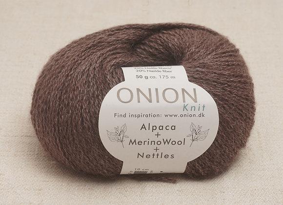 Onion Alpaca Merino Nettles - 1203 Brun